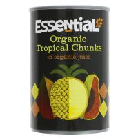 Essential Trading Organic Tropical Chunks 400g
